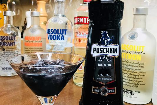 black puschkin