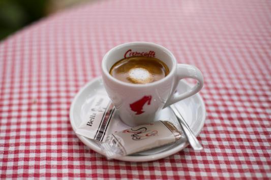 Espresso s mlijekom 0,05l