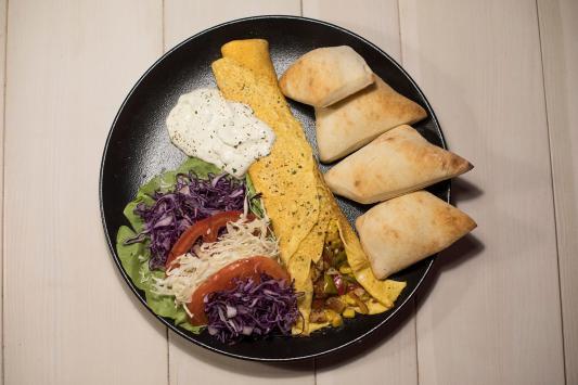 wraps omlet